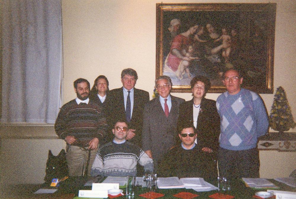 foto dei soci fondatori dell'aibxc