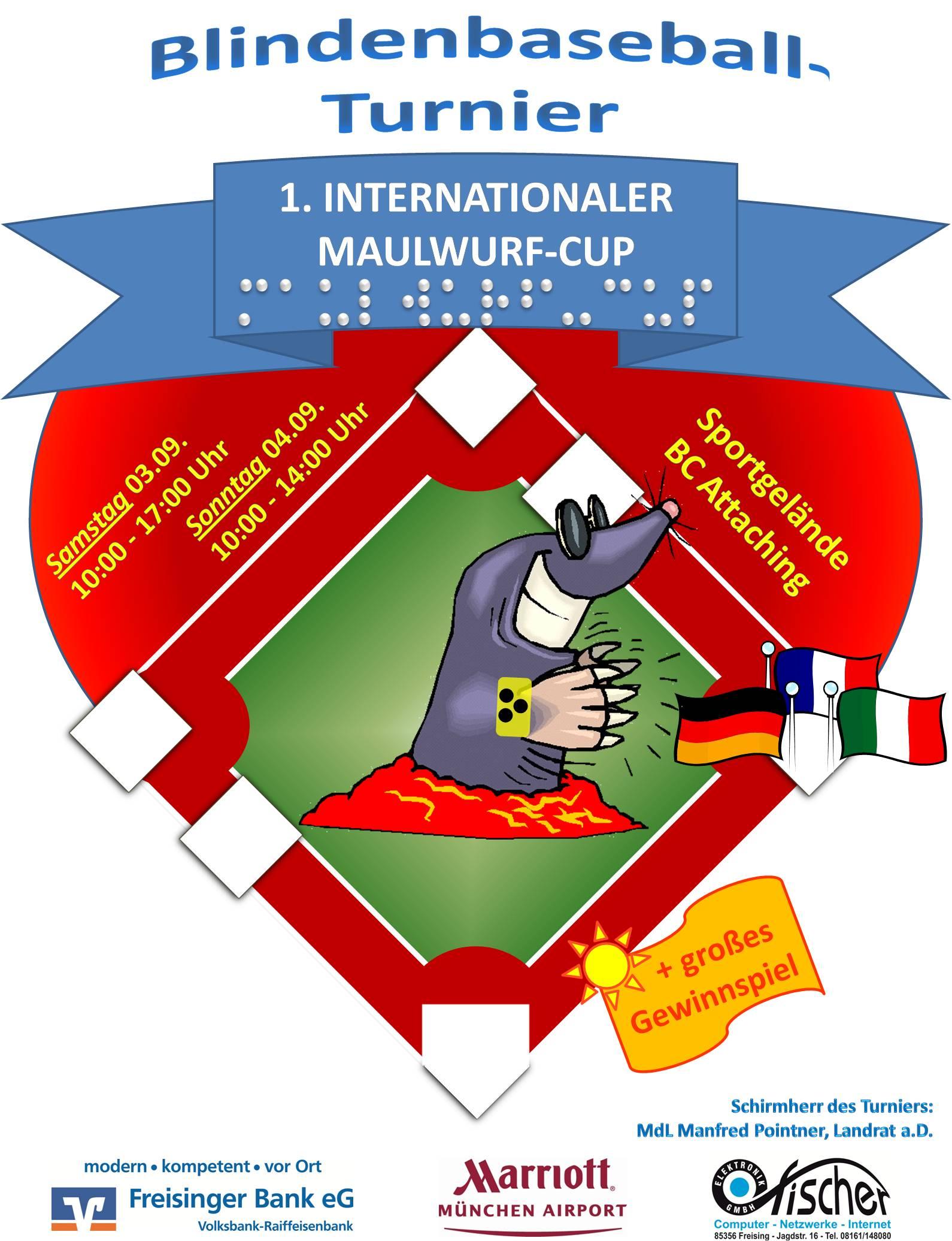 poster del torneo mole cup di freising