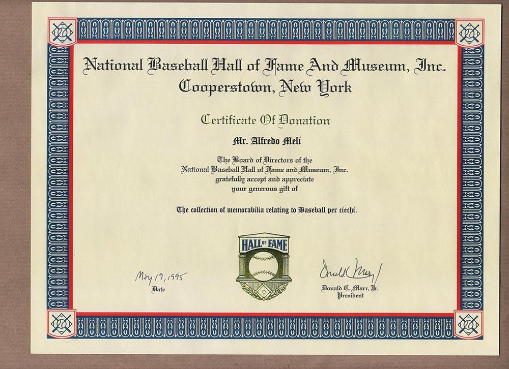 accettazione alla basebal hall of fame fatta da a.meli 1995 001