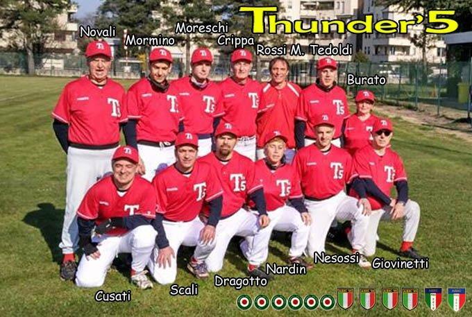 foto di squadra THUNDER'S 5 MILANO